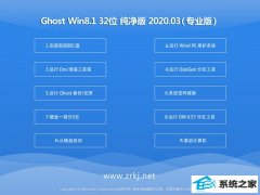 电脑店系统Windows8.1 增强纯净版32位 v2020.03