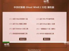 中关村Windows8.1 2021.04 32位 热门装机版